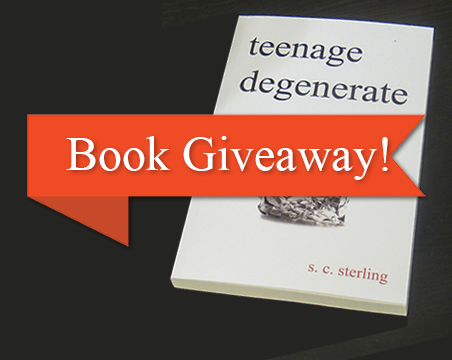 Teenage Degenerate Book Giveaway