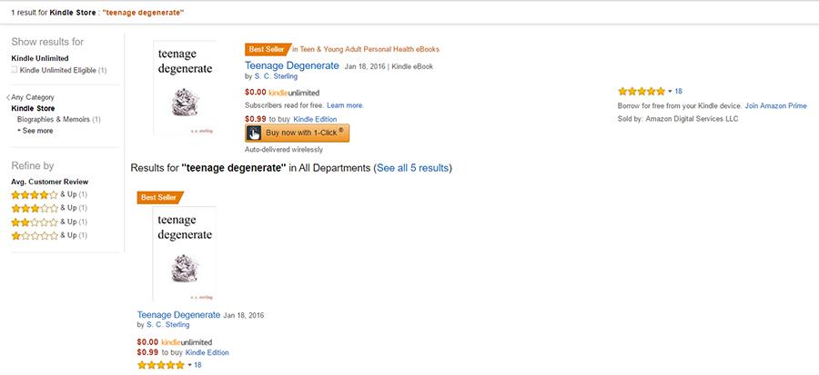 Best Seller on Amazon!