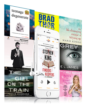 How to Purchase Teenage Degenerate on Audible.com
