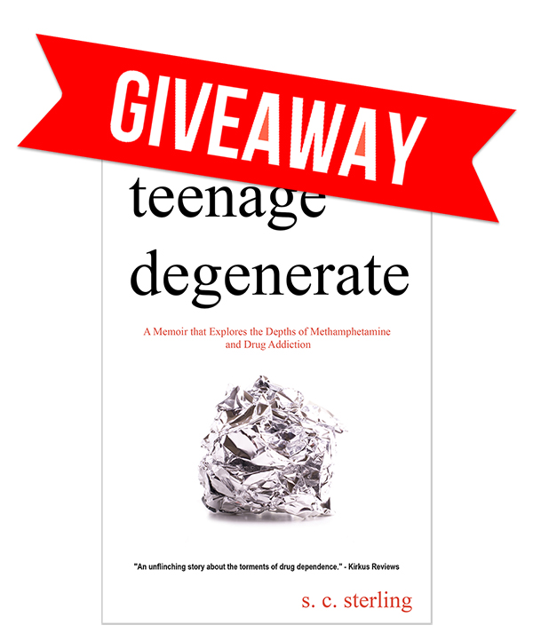 January Teenage Degenerate Goodreads.com Book Giveaway