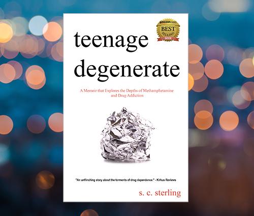 Teenage Degenerate is an In the Margins Book Winner for 2017