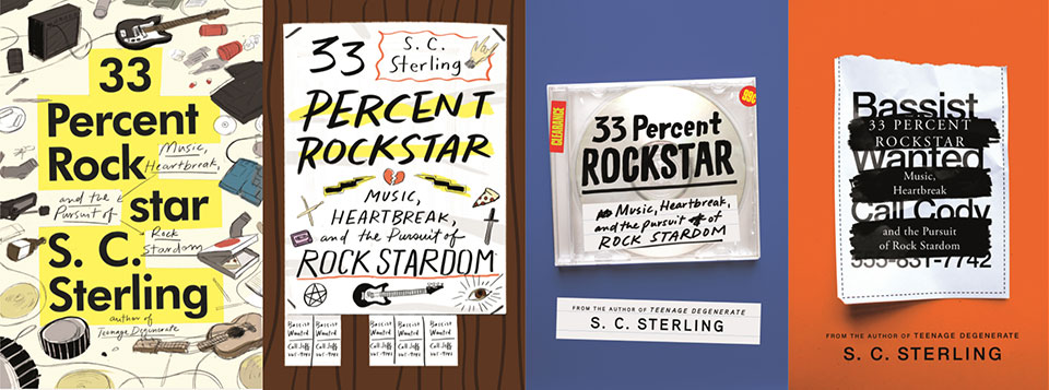 1st Draft Covers for 33 Perfect Rockstar